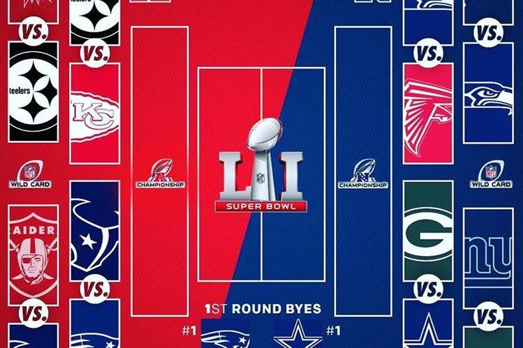 Las expectativas por el Super Bowl crecen. (Foto Prensa Libre: Twitter)