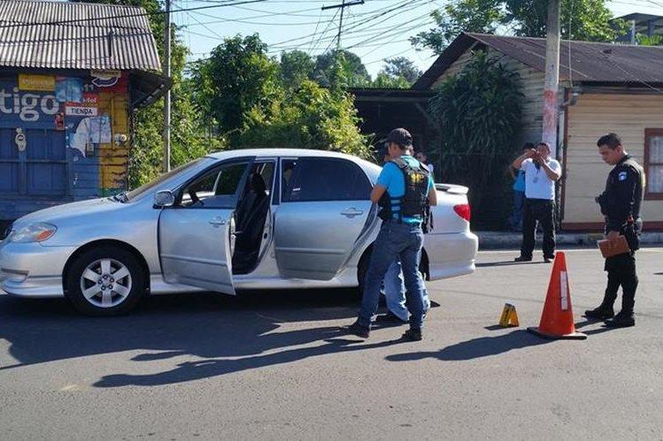En Coatepeque, Quetzaltenango, una hija del periodista Álvaro Aceytuno López, asesinado junio, murió luego de ser atacada a balazos. (Foto Prensa Libre: Alexánder Coyoy)