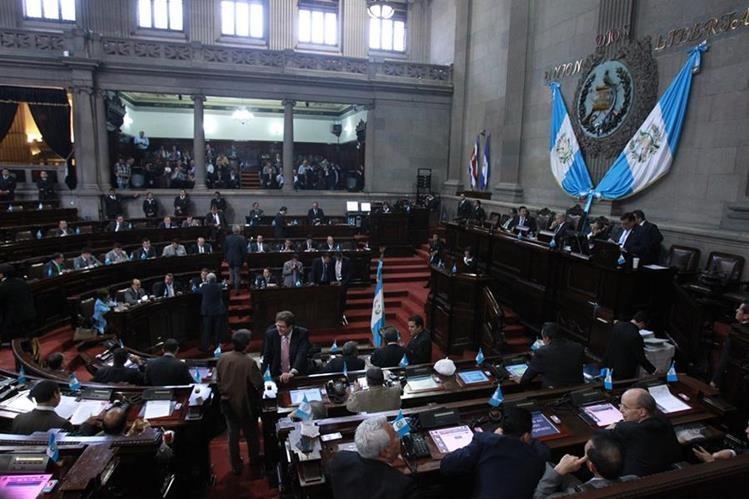 La octava legislatura aún acomoda las fuerzas políticas que lo regirán en los próximos cuatro años. (Foto Prensa Libre: Hemeroteca PL)