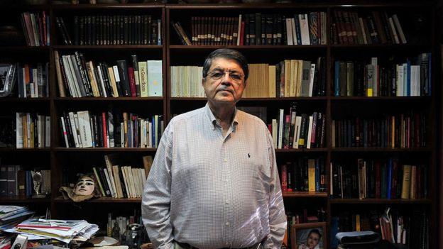 """Sergio Ramírez, el fundador de """"Centroamérica cuenta"""", fue durante mucho tiempo la única figura literaria nicaragüense que no se dedicaba a la poesía. AFP"""