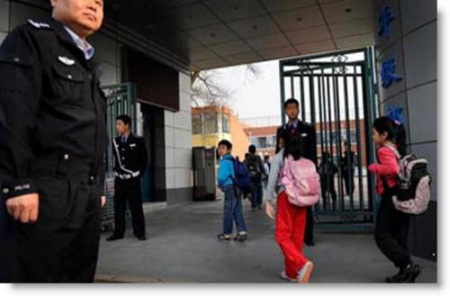 El suceso ocurrido en la zona rural de Guangxi,China.