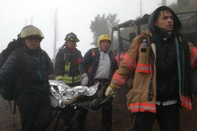 El 7 de enero del 2017, seis personas murieron en la cima del volcán Acatenango. (Foto Hemeroteca PL)