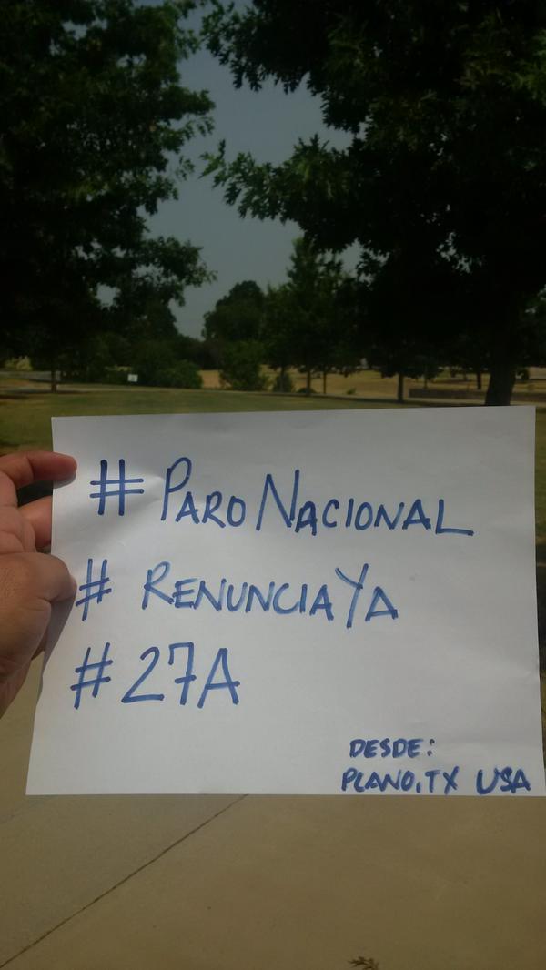 Desde Texas, EE. UU., el usuario @danilocolop, tuiteo esta fotografía.