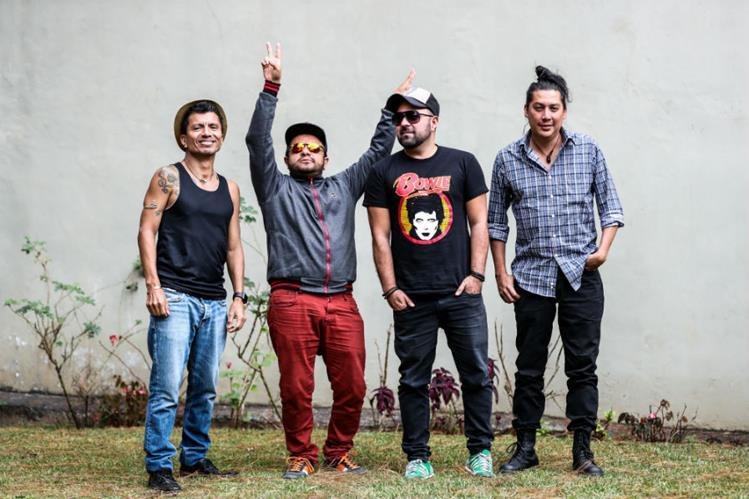 """La banda guatemalteca Viernes Verde promociona la canción """"Vas a volver"""". (Foto Prensa Libre: Keneth Cruz)"""