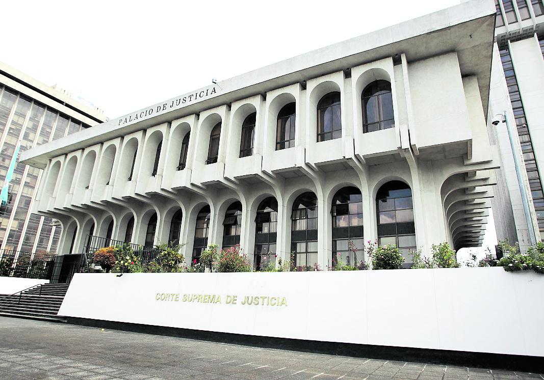 Organizaciones civiles creen que la Corte Suprema de Justicia tiene mala credibilidad luego de casos de corrupción. (Foto Prensa Libre: Hemeroteca PL)