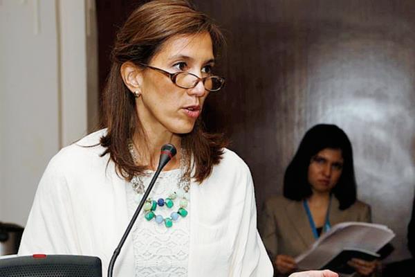 Mirei Endara, ministra de ambiente. (foto Prensa Libre: Hemeroteca).