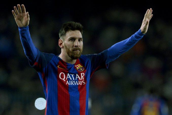 """Messi tranquiliza al barcelonismo con su """"jugoso"""" contrato con el club. (Foto Prensa Libre: Hemeroteca)"""