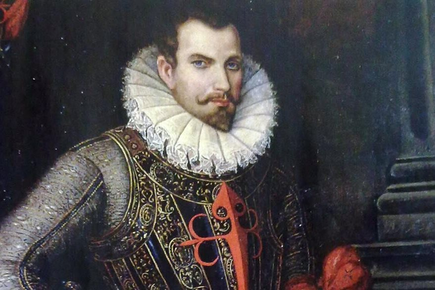 Retrato del conquistador español Pedro de Alvarado.