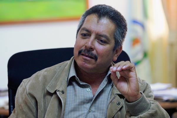 Yener Haroldo Plaza Natareno, alcalde de San Lucas Sacatepéquez. (Foto Hemeroteca PL)
