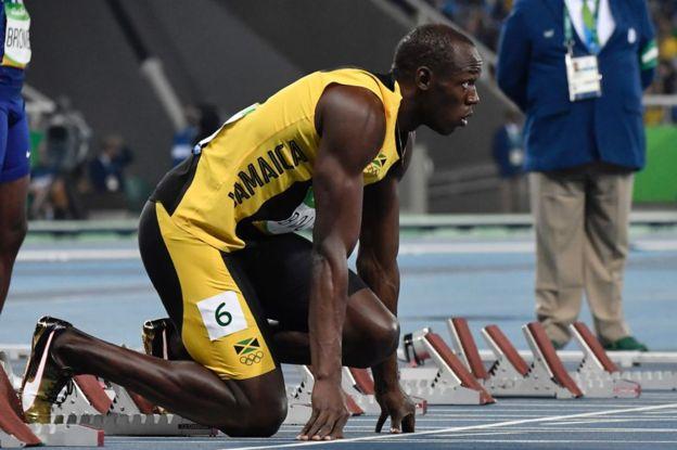 Bolt, listo para hacer historia. (AFP)