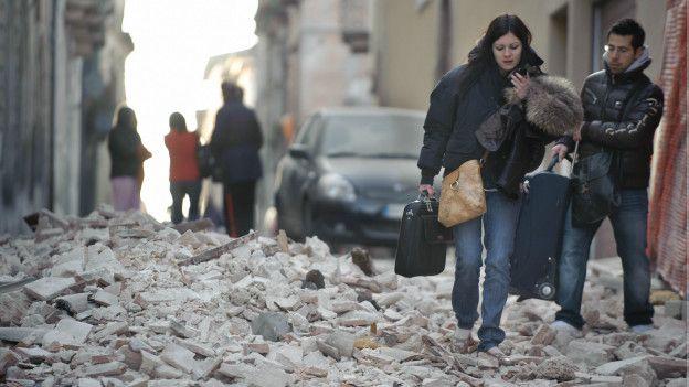 Antes del terremoto en L
