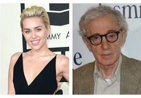 La polémica cantante Miley Cyrus protagonizará la serie de Woody Allen. (Foto Prensa Libre: Hemeroteca PL)