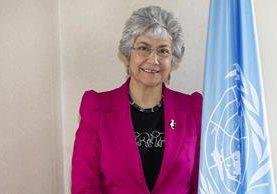 <p>Flavia Pansieri. (Foto Prensa Libre: ONU)</p>