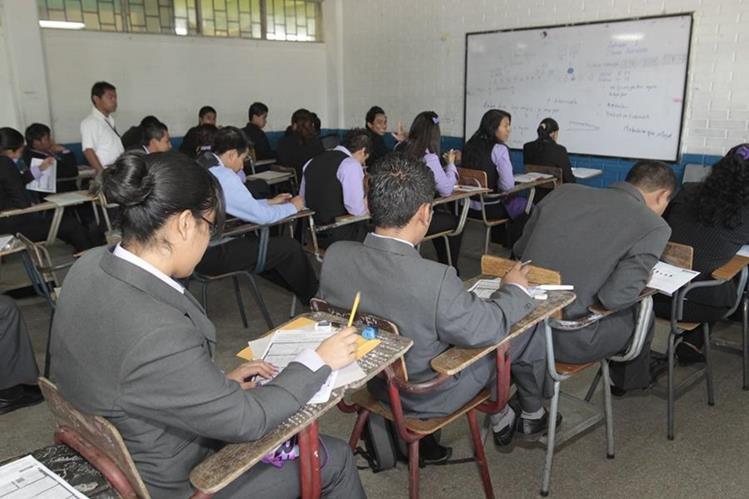 Mineduc señala falta de reconocimiento a educación en idioma materno. (Foto Prensa Libre: Hemeroteca PL)