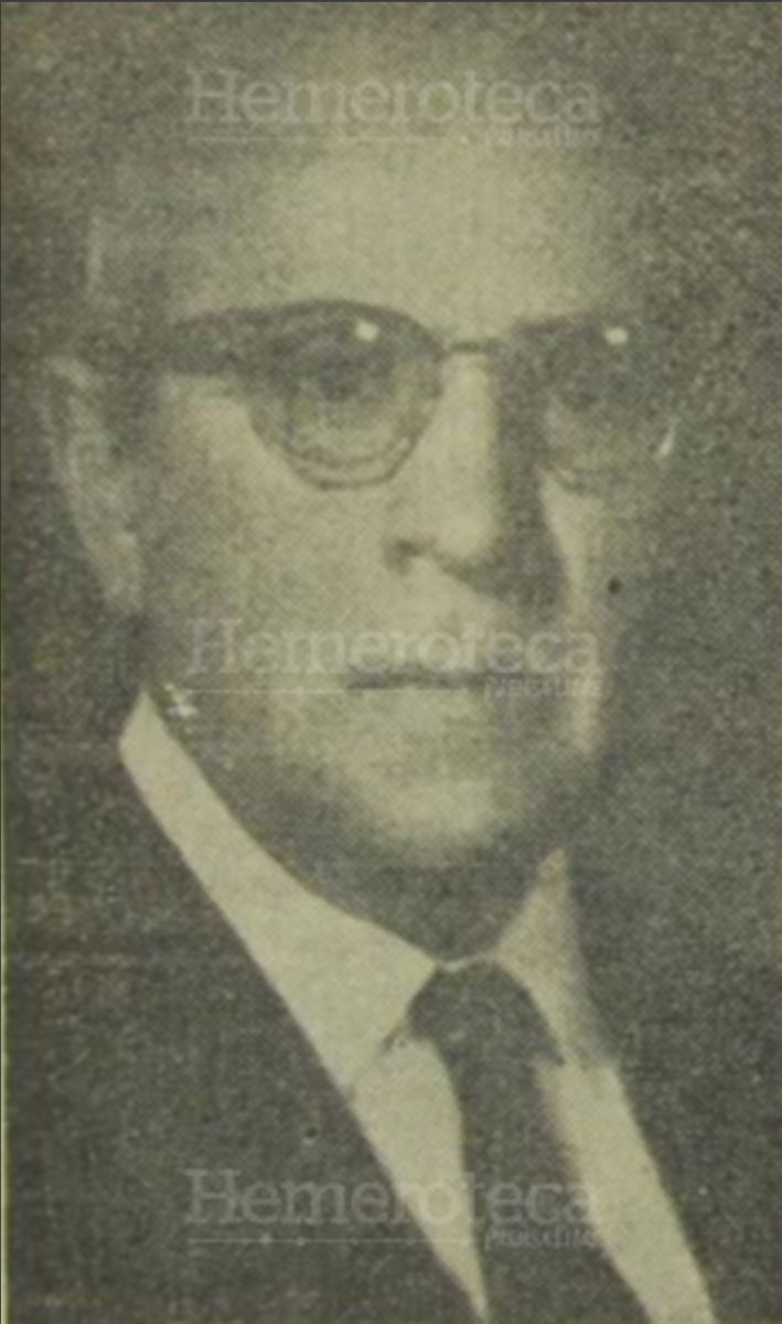 21/04/1960 Dr. Carlos Federico Mora, primer rector de la Usac. (Foto: Hemeroteca PL)