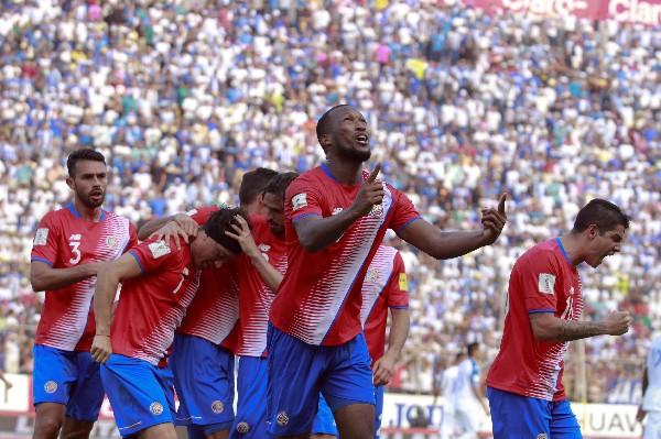 Costa Rica se ha convertido en una potencia de la Concacaf y digno representante en las copas del Mundo). (Foto Prensa Libre: EFE)