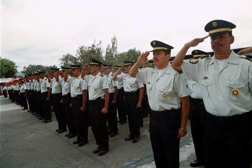 Las fuerzas policiales se pueden reforzar con más recursos.(Foto Prensa Libre: Hemeroteca PL)