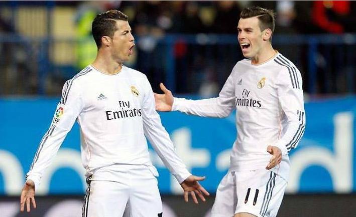 Cristiano Ronaldo y Bale comparten en el Real Madrid. (Foto Prensa Libre: Hemeroteca PL)