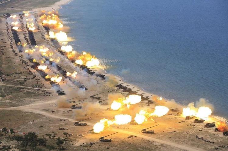 Instalan escudos antimisiles en Corea del Norte