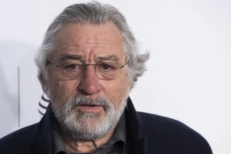 Robert De Niro será reconocido por su capacidad interpretativa y su trayectoria actoral. (Foto Prensa Libre: AP)