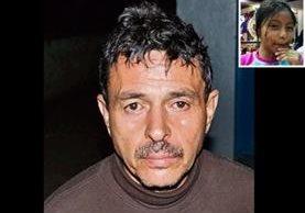 Edwin Vanegas, condenado por la muerte de Dulce Velásquez (inserto). Foto Prensa Libre: PNC