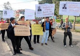 En los últimos días Xela ha sido escenario de protestas contra la corrupción. (Foto Prensa Libre: Hemeroteca PL).