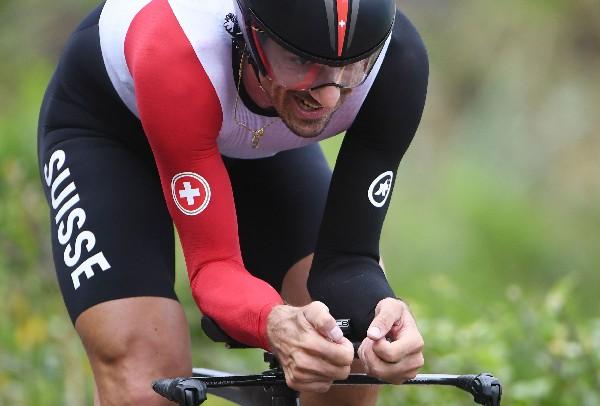 El suizo Fabian Cancellara se lució al ganar una de las pruebas reinas del ciclismo, la contrarreloj. (Foto Prensa Libre: AFP)