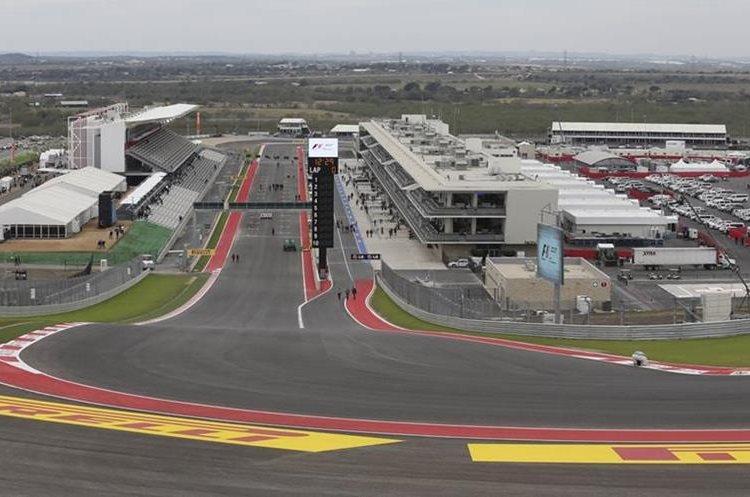 El Circuito de las Américas vivirá un gran momento el domingo. (Foto Prensa Libre: Hemeroteca PL)