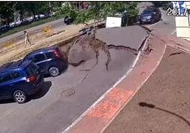 Cámara capta momento de explosión. (Captura del sitio abc.es)