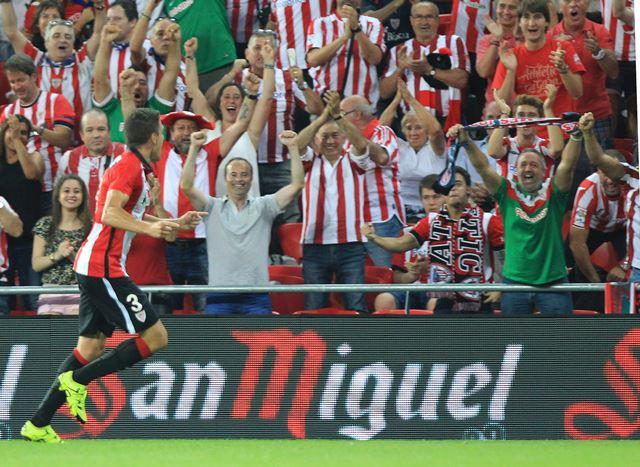 El Bilbao será parte de la Europa League (Foto Prensa Libre: EFE)