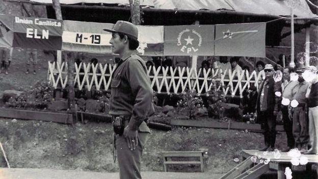A finales de la década de los 80, las Farc intentaron juntar fuerzas con los otros grupos guerrilleros de izquierda en la llamada Coordinadora Guerrillera Simón Bolívar.(Archivo).