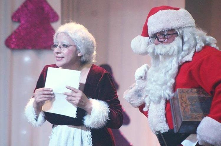 Los personajes navideños brindan un repertorio entretenido para los asistentes. (Foto Prensa Libre: Cortesía UP)
