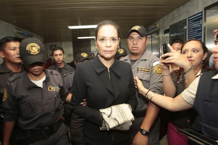 La ex vicepresidenta Roxana Baldetti enfrenta varios casos de corrupción que habría cometido durante su gestión junto a Otto Pérez Molina, en el Gobierno del Partido Patriota. (Foto HemerotecaPL)