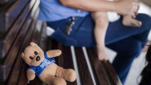 Hogar para niños en Fortaleza. La ley brasileña permite que las parejas desistan de la adopción durante el período provisorio de convivencia. (Foto Prensa Libre: Marília Camelo/BBC Brasil)