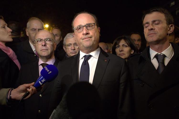 """El presidente de Francia dijo que serán """"implacables"""" y castigarán a los responsables. (Foto Prensa Libre: EFE)."""