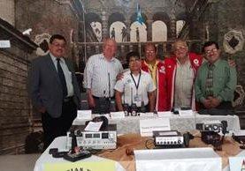 Museo de Telegrafistas y Radiotelegrafistas de Guatemala. (Foto Prensa Libre: Cortesía)