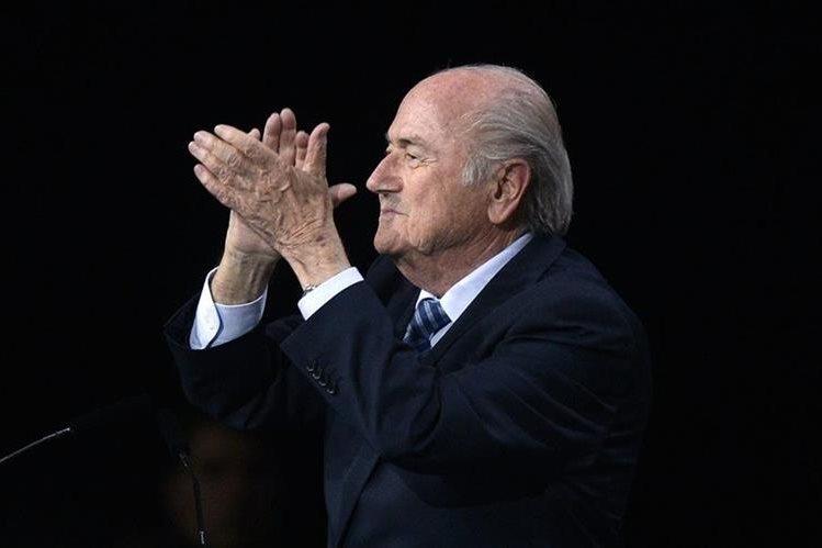 Joseph Blatter, expresidente de la Fifa, es acusado de corrupción. (Foto Prensa Libre: Hemeroteca PL)