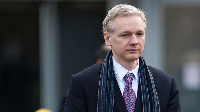 &nbsp;Fundador de WikiLeaks, Julian Assange.<br />