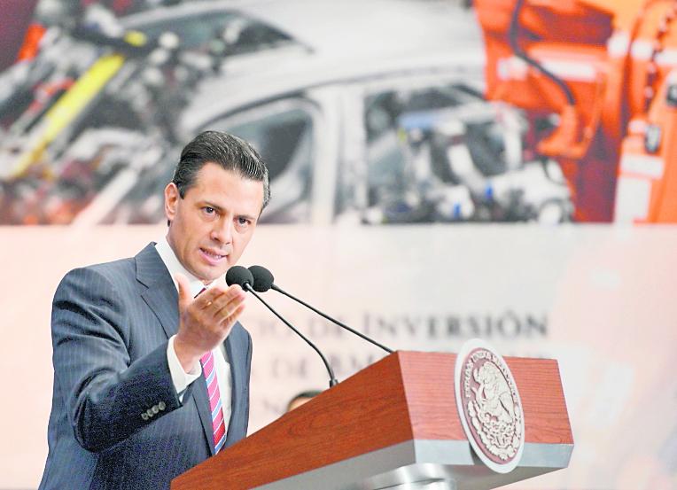 El presidente mexicano, Enrique Peña Nieto, anunció una serie de cambios en su equipo de Gobierno. (Foto Prensa Libre: Hemeroteca PL).