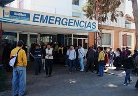 Hospital Regional de Occidente, en Xela, donde se ubica la morgue que reguarda los restos del recién nacido. (Foto Prensa Libre: Carlos Ventura).