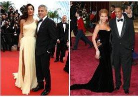 George Clooney y su esposa Amal tendrá mellizos, al igual que Beyoncé y su pareja Jay Z. (Foto Prensa Libre: Hemeroteca PL)