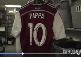 El video de la llegada de Marco Pappa al Dick's Sporting Goods Park ya supera las 33 mil reproducciones. (Foto Prensa Libre: Facebook Colorado Rapids)