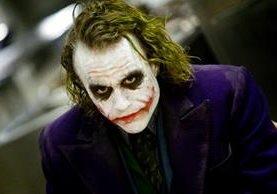 """El actor Heath Ledger interpretó al Joker en la película """"The Dark Knight"""", un trabajo que le valió un premio póstumo de la Academia (Foto Prensa Libre: Warner Bros.)."""