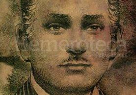 Retrato de Guido Albani obtenido a través de una fotografía, por Marvin Olivares. (Foto: Hemeroteca PL)