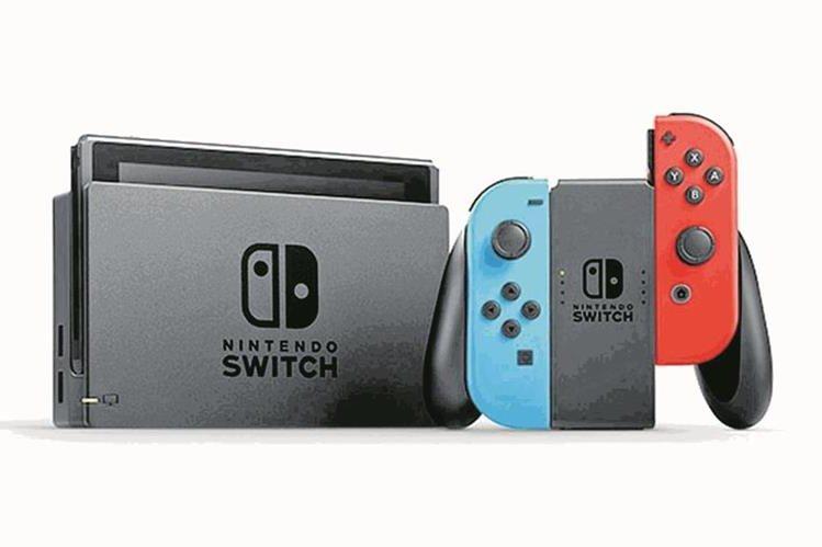 Nintendo Switch es el gadget del año para la revista Time (Foto Prensa Libre: Hemeroteca PL)