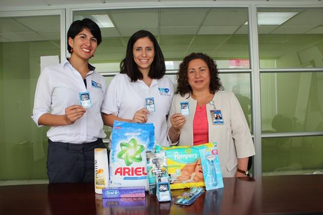 Pamela Godoy, Rhina Alvarez y Dora Quiñonez representantes de instituciones participantes del programa. (Foto Prensa Libre: Hemeroteca PL)