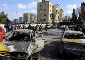 Los ataques aéreos han causado devastación en Siria. (Foto Prensa Libre: EFE)