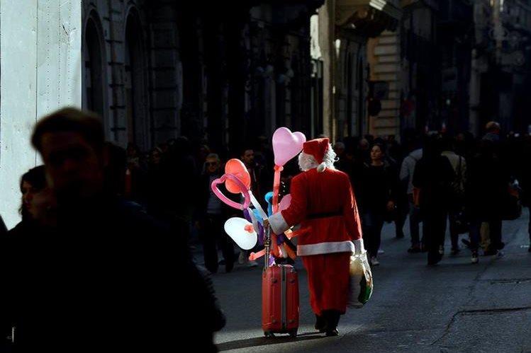 Los países nórdicos se disputan el origen de Santa Claus. (Foto Prensa Libre: AFP).