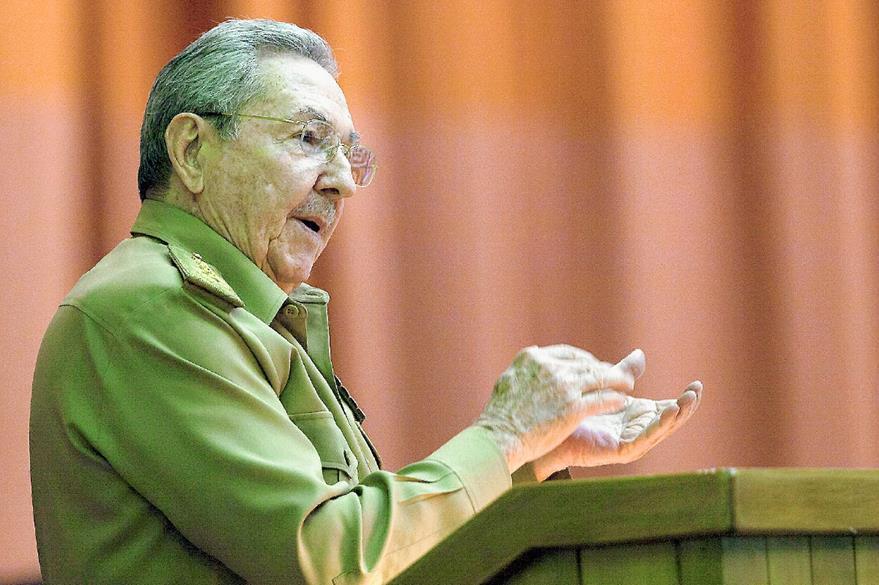 El presidente cubano, Raúl Castro. (Foto Prensa Libre: EFE).