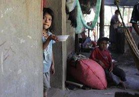 En el interior del país existe la mayor cantidad de menores con desnutrición. (Foto Prensa Libre: Hemeroteca PL)